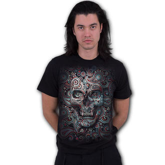tričko pánské SPIRAL - SKULL ILLUSION, SPIRAL