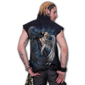 košile pánská bez rukávů (vesta) SPIRAL -  FALLEN - K066M602