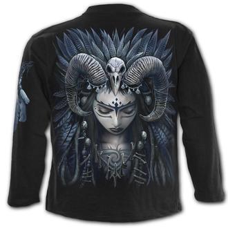 tričko pánské s dlouhým rukávem SPIRAL - RAVEN QUEEN, SPIRAL