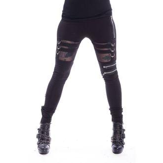 kalhoty dámské (legíny) Chemical Black - INKA - BLACK, CHEMICAL BLACK