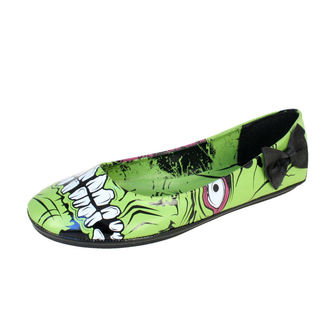 boty dámské IRON FIST - Zombie Stomper Flat - Green - IFW005228-Green