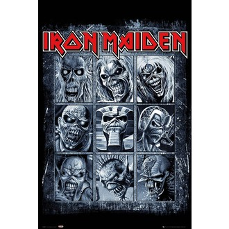 plakát IRON MAIDEN - GB posters, GB posters, Iron Maiden