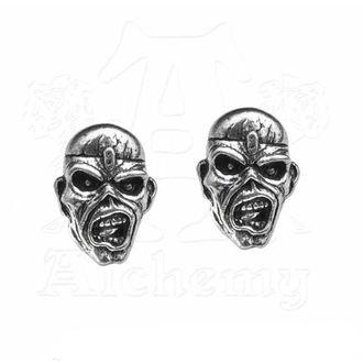 náušnice Iron Maiden - Eddie Head - ALCHEMY GOTHIC, ALCHEMY GOTHIC, Iron Maiden