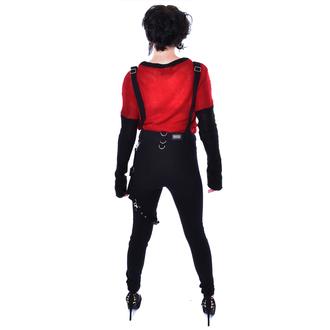kalhoty dámské VIXXSIN - ISABELLA DUNGAREES - BLACK, VIXXSIN