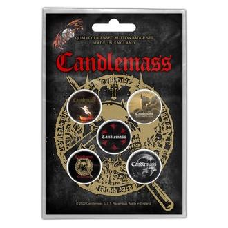 placky CANDLEMASS - THE DOOR TO DOOM - RAZAMATAZ, RAZAMATAZ, Candlemass