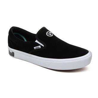 boty VANS - UA Comfy Cush Slip - DISTORT BLACK, VANS