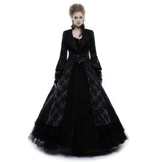 kabát dámský PUNK RAVE - Black Ruby Gothic ball - WY-844/BK