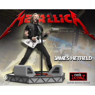 figurka Metallica - James Hetfield - Limited Edition - KNUCKLEBONZ, KNUCKLEBONZ, Metallica