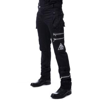 kalhoty pánské HEARTLESS - JAXON - BLACK - POI852