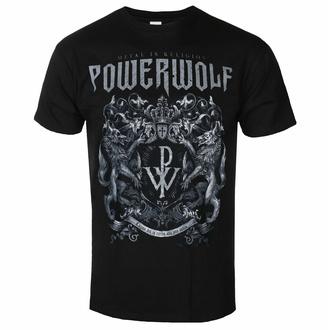 tričko pánské Powerwolf - Crest - Metal Is Religion, NNM, Powerwolf