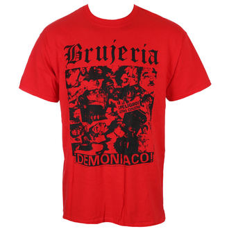 tričko pánské BRUJERIA - DEMONIACO - AUNQUE NO CREAN/RED - JSR, Just Say Rock, Brujeria