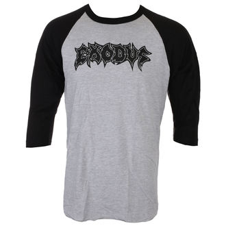 tričko pánské s 3/4 rukávem EXODUS - METAL COMMAND - GREY/BLK - JSR