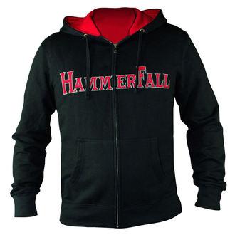 mikina dámská se zipem Hammerfall - Hammered DELUXE Girlie ZIP HOOD - HSW - 157995
