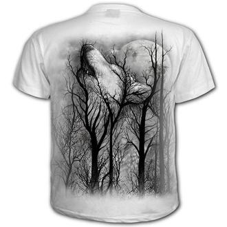 tričko pánské SPIRAL - FOREST WOLF - White, SPIRAL