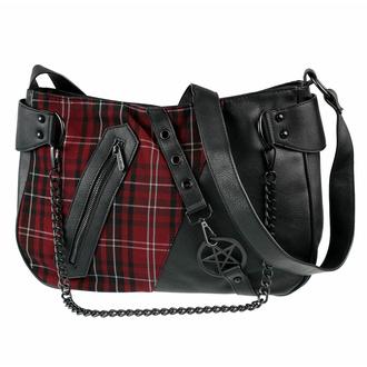 kabelka (taška) KILLSTAR - Harley Chain - BLOOD TARTAN, KILLSTAR