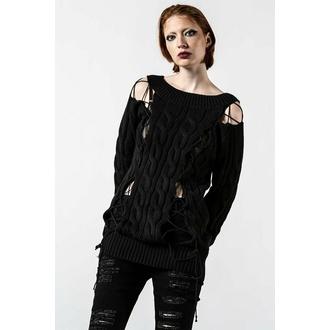 svetr dámský KILLSTAR - Juniper Knit - Black - KSRA004149