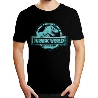 tričko pánské Jurský svět - LOGO - BLACK - LEGEND, LEGEND, Jurský svět