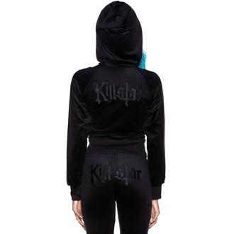 mikina dámská KILLSTAR - Just Crew-Sin Velvet - BLACK, KILLSTAR