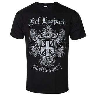 tričko pánské DEF LEPPARD - SHEFFIELD 1977 - PLASTIC HEAD, PLASTIC HEAD, Def Leppard