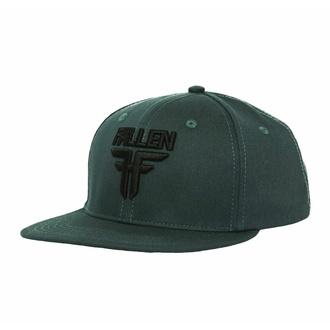 kšiltovka FALLEN - Insignia Flat - Green-Black - FMJ1CP01 GREEN-BLACK