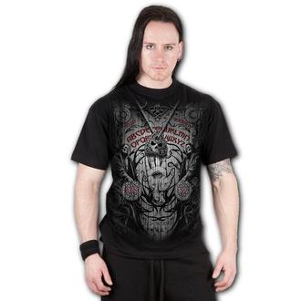 tričko pánské SPIRAL - SPIRIT BOARD - Black, SPIRAL