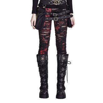 kalhoty dámské (legíny) PUNK RAVE - Ripped, PUNK RAVE