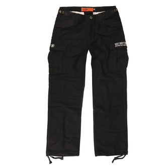 kalhoty pánské WEST COAST CHOPPERS - M-65 CARGO PANTS - Vintage black, West Coast Choppers