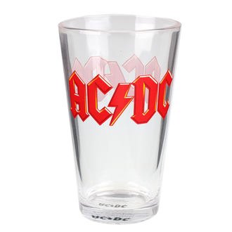 sklenice AC/DC - Logo, AC-DC