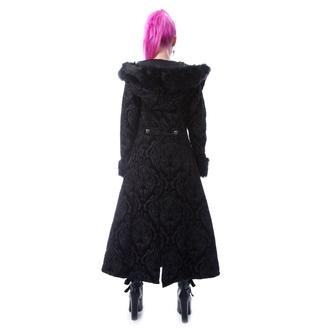 kabát dámský POIZEN INDUSTRIES - KARLYN - BLACK, POIZEN INDUSTRIES