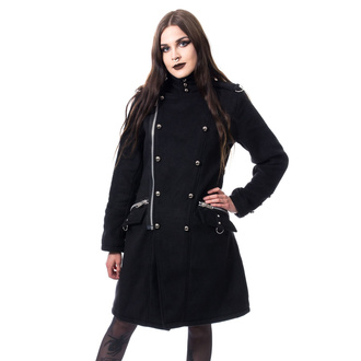 kabát dámský POIZEN INDUSTRIES - KARRI - BLACK, POIZEN INDUSTRIES