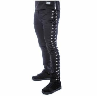 kalhoty pánské POIZEN INDUSTRIES - KENDRIC - BLACK, POIZEN INDUSTRIES