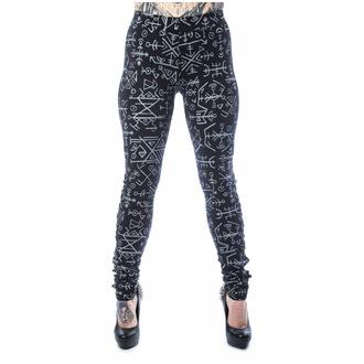 kalhoty dámské (legíny) HEARTLESS - KEPLER - BLACK, HEARTLESS