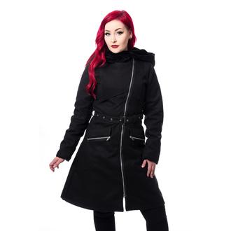 kabát dámský CHEMICAL BLACK - KIARA - BLACK, CHEMICAL BLACK