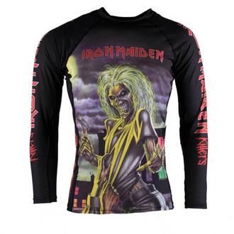 tričko dětské s dlouhým rukávem (technické) TATAMI - Iron Maiden - Killers - Rash Guard - TAT009