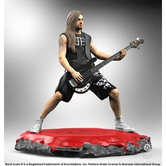 figurka Pantera - Rock Iconz Statue - Rex Brown, KNUCKLEBONZ, Pantera