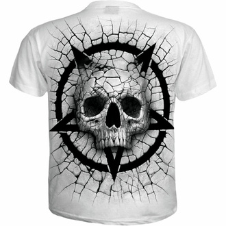 tričko pánské SPIRAL - CRACKING UP - White, SPIRAL