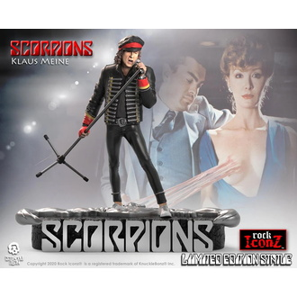 figurka Scorpions - Klaus Meine - KNUCKLEBONZ, KNUCKLEBONZ, Scorpions