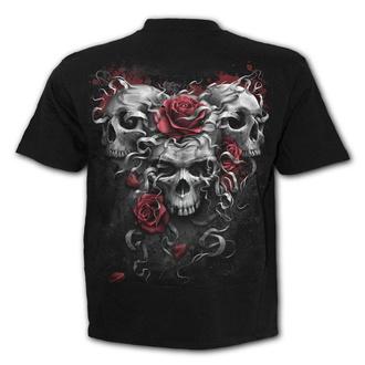 tričko pánské SPIRAL - SKULLS N' ROSES, SPIRAL