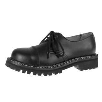 boty KMM 2x dírkové - Black - 030