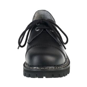 boty KMM 2x dírkové - Black, KMM