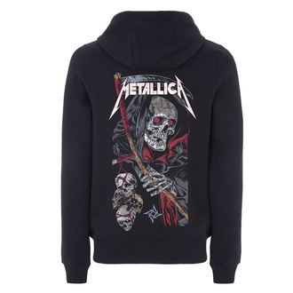 mikina pánská Metallica - Death Reaper - Black, NNM, Metallica
