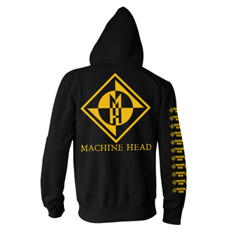mikina pánská Machine Head - Diamond - Black - RTMHZHBDIA