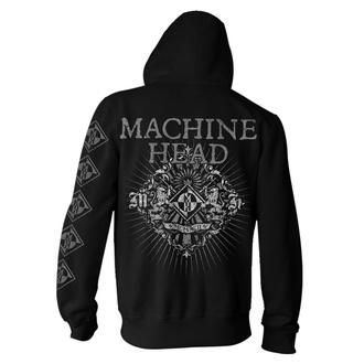 mikina pánská Machine Head - Lion Crest Rays - Black, NNM, Machine Head
