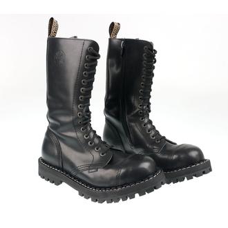 boty STEEL - 15 dírkové černé (135/136 Black) - POŠKOZENÉ, STEEL
