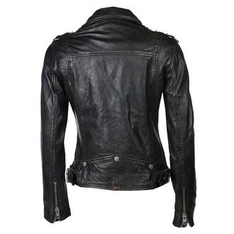 bunda dámská (křivák) G2GPunk LAFOV - black, NNM