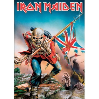 pohlednice IRON MAIDEN - The Trooper - ROCK OFF, ROCK OFF, Iron Maiden