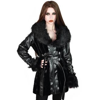 kabát dámský KILLSTAR - Krystina Faux-Fur, KILLSTAR