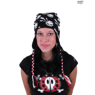 kulich EMILY THE STRANGE - Emily (E3082001) Skull Rock Beanie