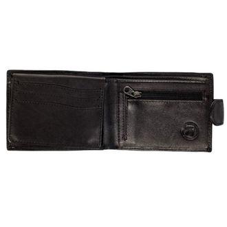 peněženka MEATFLY - Rikker - 1/26/55, A - Black Leather, MEATFLY