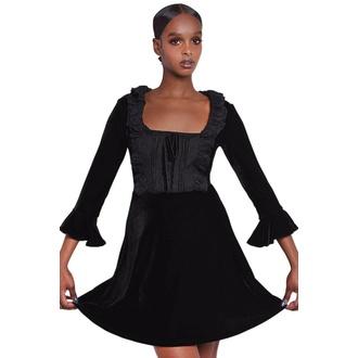 šaty dámské KILLSTAR - Laid To Rest - BLACK - KSRA001564